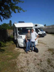 The Morses say Au Revoir to thier campervan