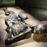 2000 year old bog man found in Denmark