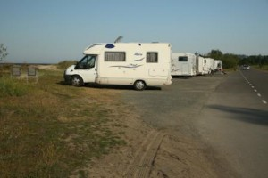 You can park your campervan just about anywhere in France