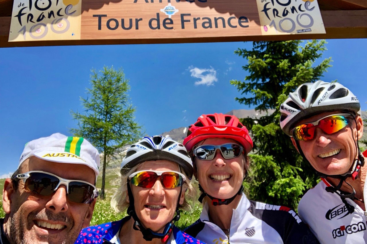 jo and jose at the tour de france 2018