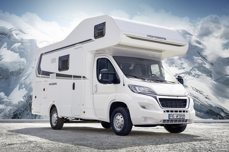 new motorhomes and campervans for sale in france