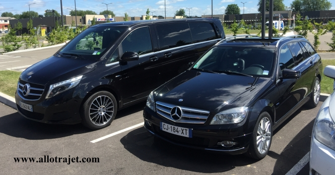 Paris transfer service to Euro Camping Cars