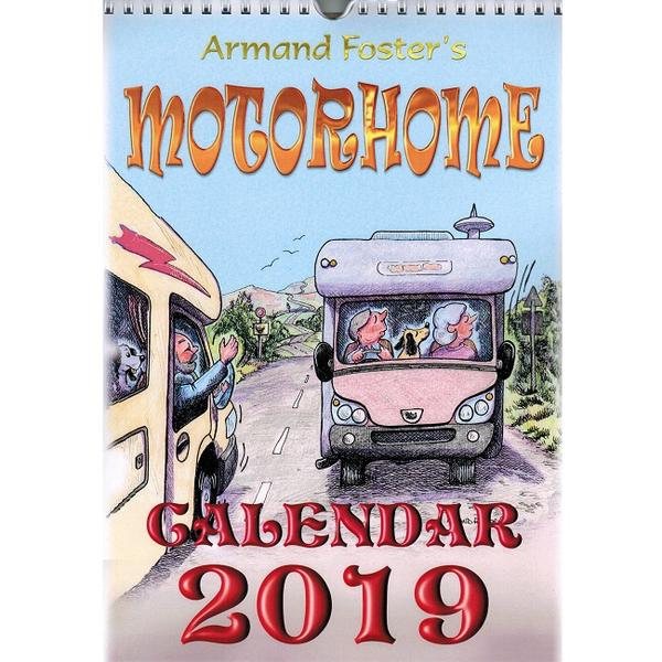 2019 Motorhome Calendar available from Vicarious Media