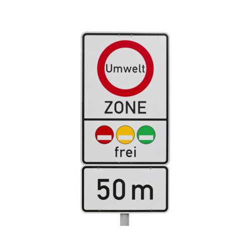Look out for signage across Europe warning you are entering into a Low Emissions Zone and make sure your vehicle complies