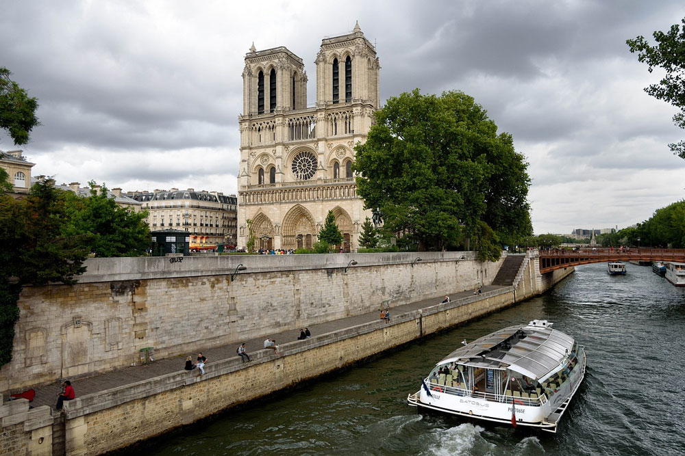 Take your campervan to Paris and explore the wonderful sights such as Notre-Dame