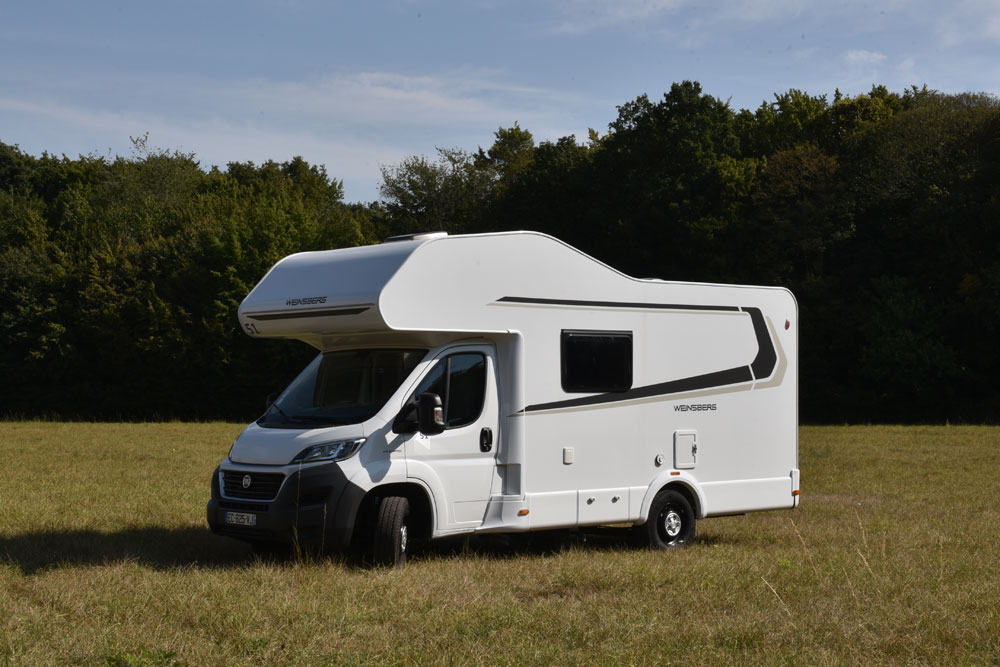 Even the biggest motorhomes we sell can be driven with a licence for up to 3.5 tons