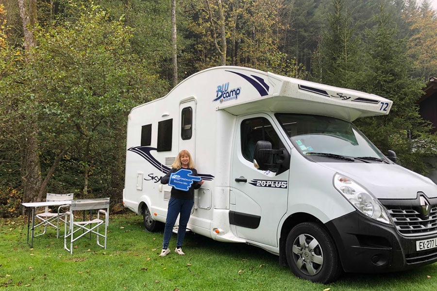 A 2018 model Sky 20 exploring The Black Forest with one of our most recent rental clients
