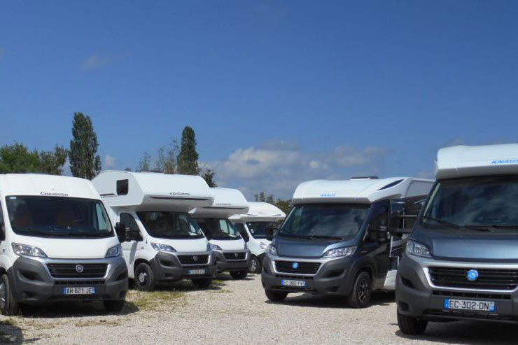 Outdoor storage is a very inexpensive option and modern motorhomes are built to live outdoors