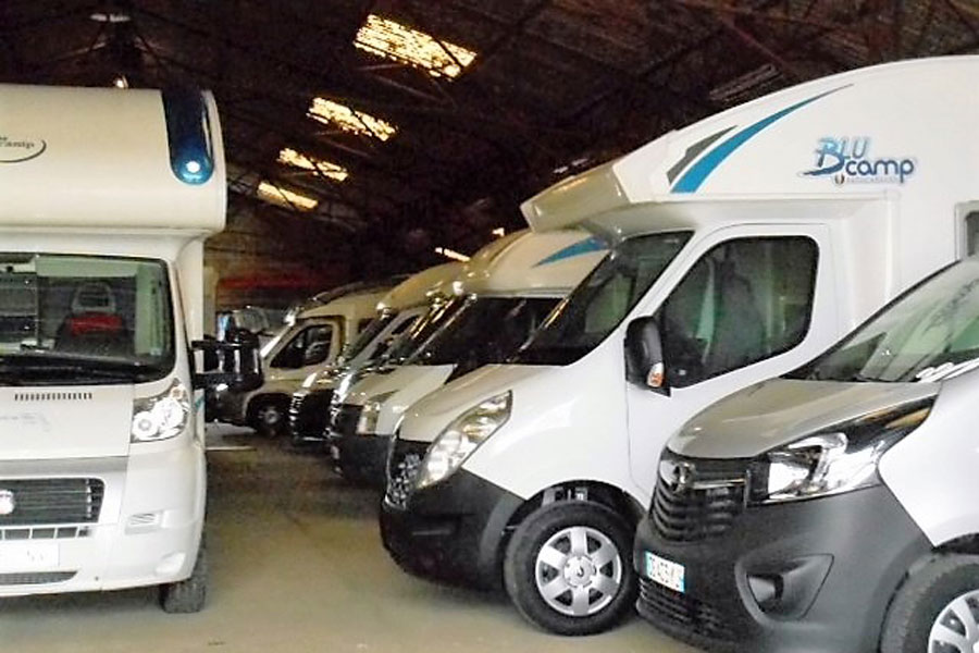 Your motorhome won't mind spending some time in storage if you have to postpone your trip.