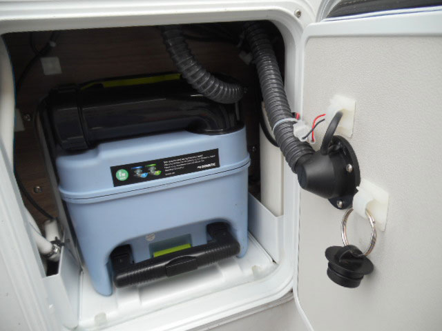 Creature comforts such as an SOG venting system on your WC cassette and the Knaus central servicing point are great innovations