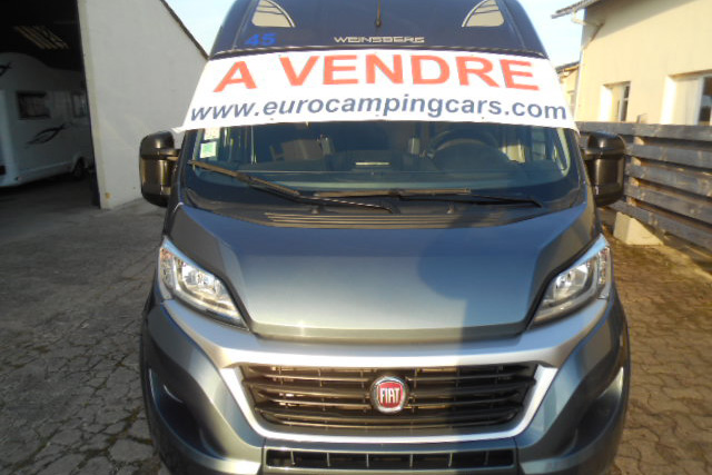 If you want to buy a buy a used campervan and register it in France, it's best to buy it in France