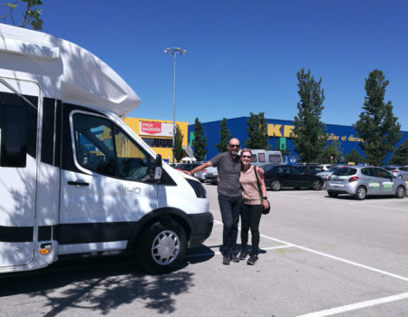 Head to Ikea to equip your motorhome for your trip
