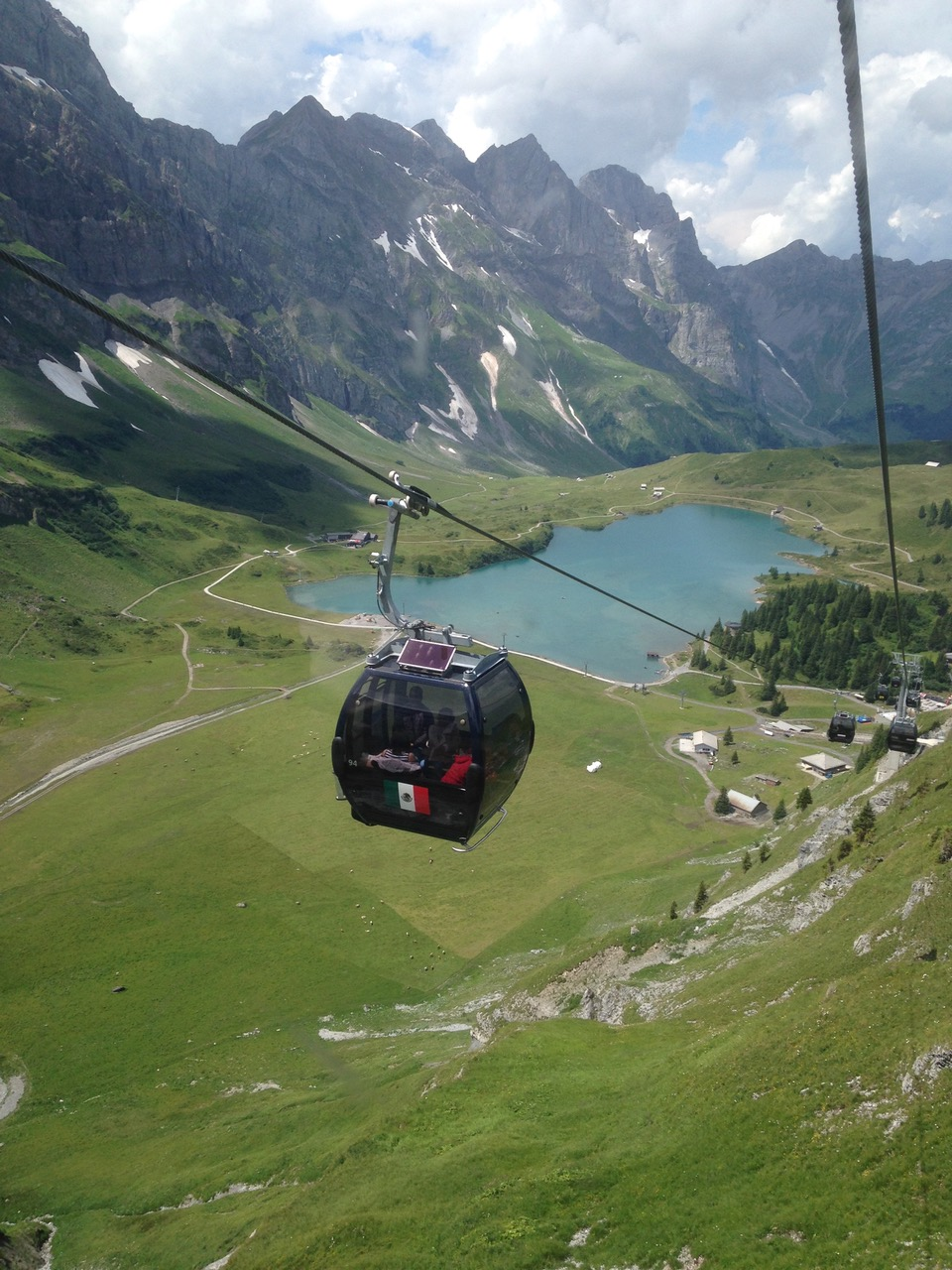 Gondola to Mt Titlis