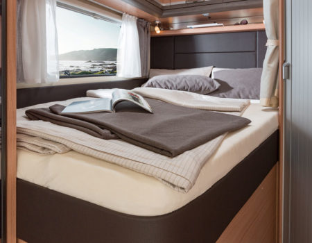 What's in a motorhome or campervan layout?