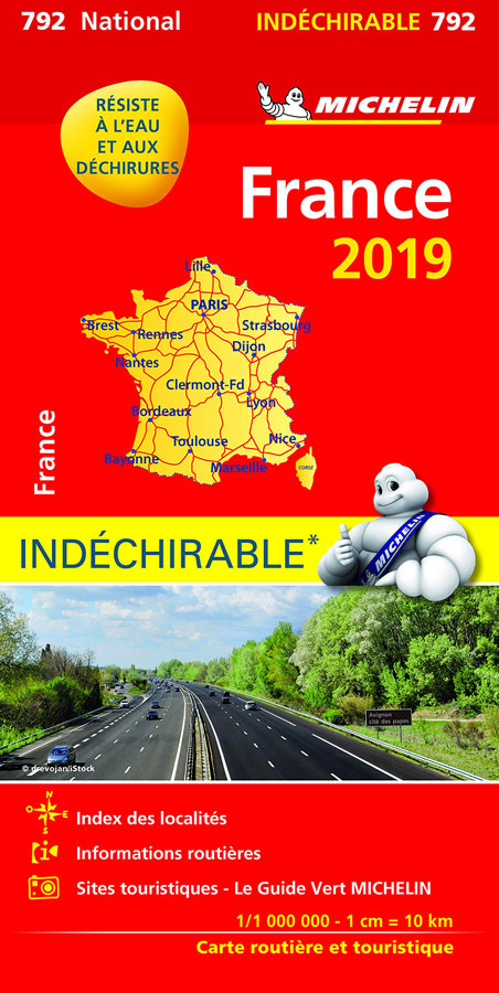 These Michelin maps are great for journey planning