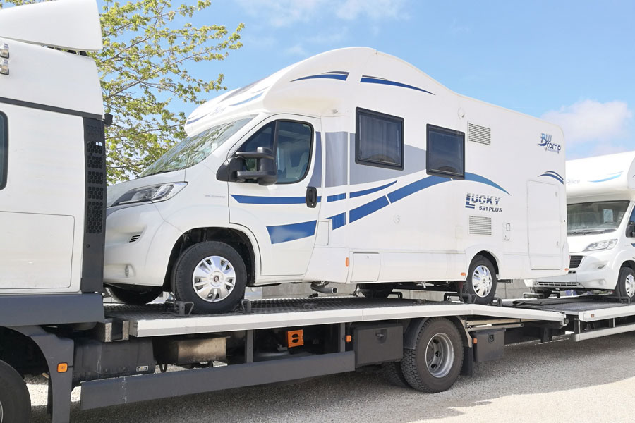 Your new motorhome will usually be delivered to us around six months after you order it but current market conditions may extend lead times