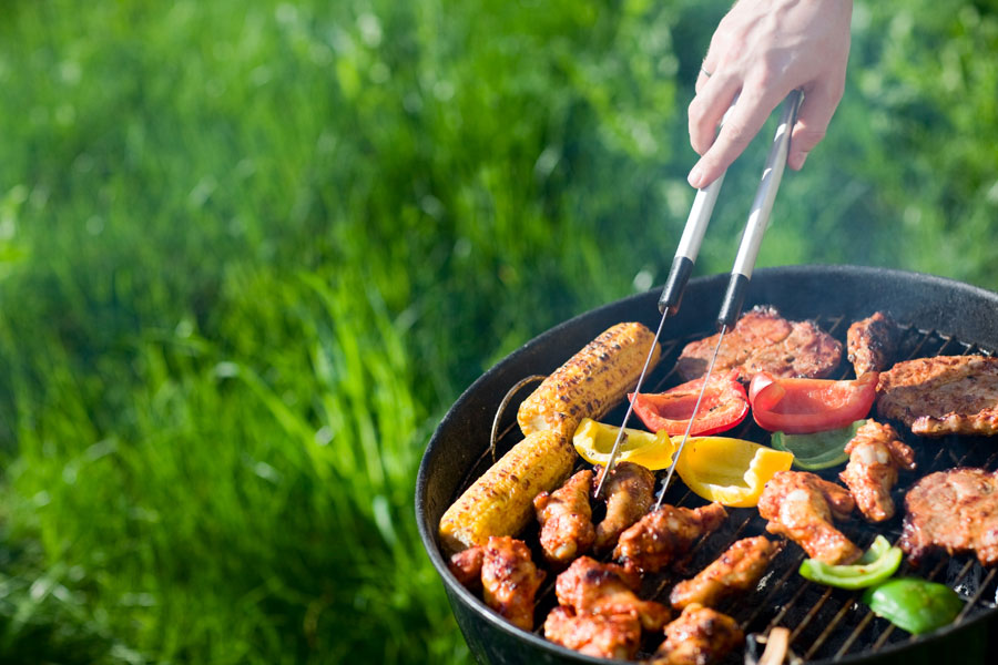 Most motorhome owners carry a barbecue and use it frequently during the warmer months