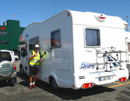 Tour Europe then tour North America in your French motorhome!