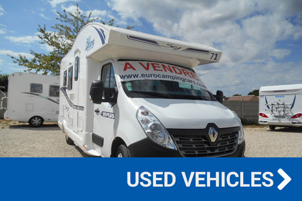 used motorhomes and campervans for sale in france