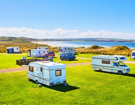 You need to plan ahead when you visit England in a motorhome