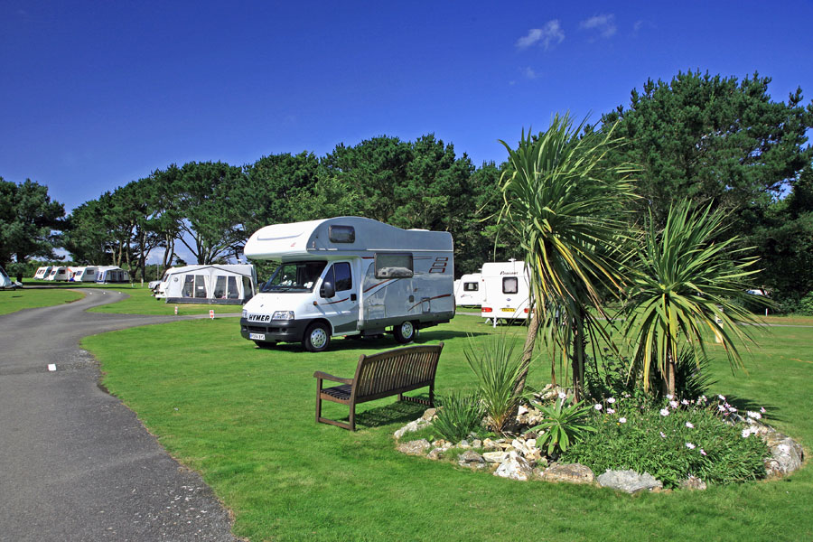 The Caravan and Motorhome Club campsites are always immaculate and well run with great facilities