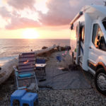 First photo from Daniel and Denise's motorhome trip after buying from Euro Camping Cars