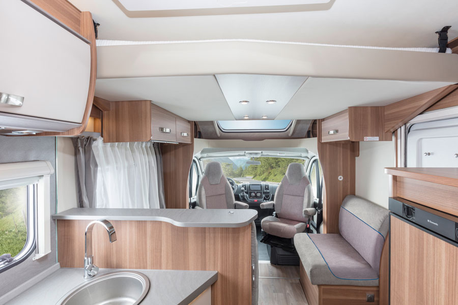 German built Weinsberg motorhomes and campervans are beautifully finished. Our ex-rental selection are just six months old