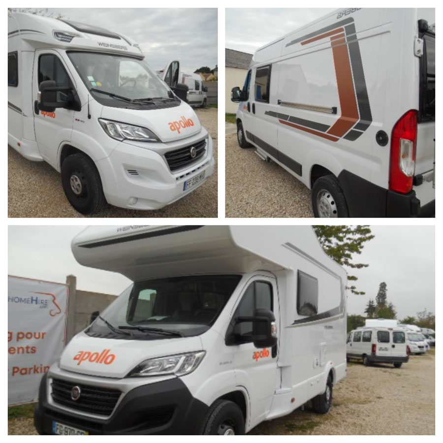 Newly arrived for sale after just one short season on the Apollo rental fleet, The 2019 model Weinsberg Carahome 550 MG