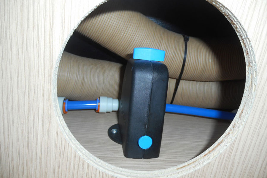 That's the frost protection valve but will you remember how to use it in December if it was demonstrated in June