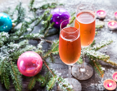 Rural Britain meets The Champagne Region in our seasonal cocktail recipe