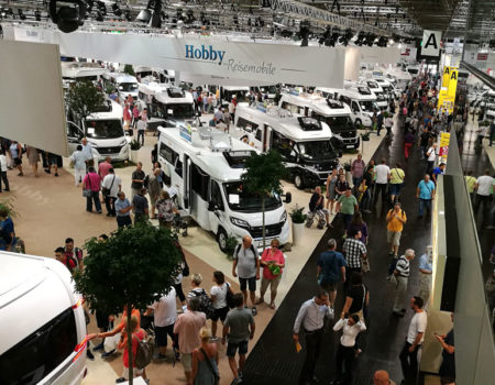 Planning to buy a new motorhome for 2021? Plan a trip to a European motorhome show this year