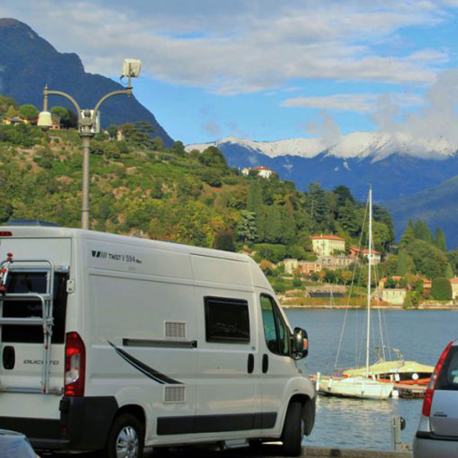 A room with view is always possible on a campervan trip and if you don't like the view you can simply find a new one