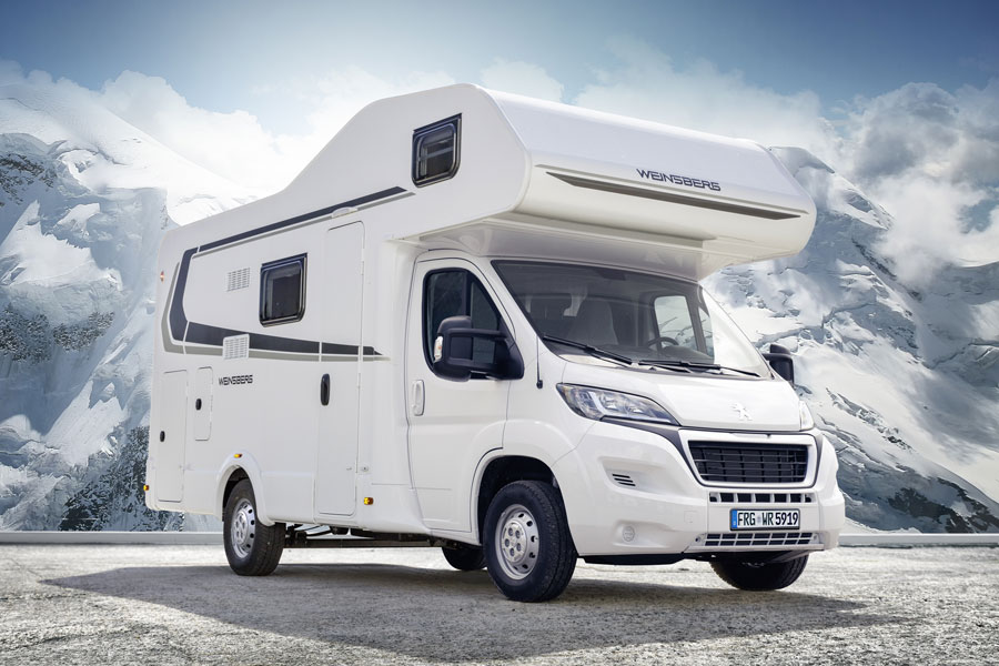Even though it is six berth, the 600 DKG is well under 7 metres long so its easy to park and drive.