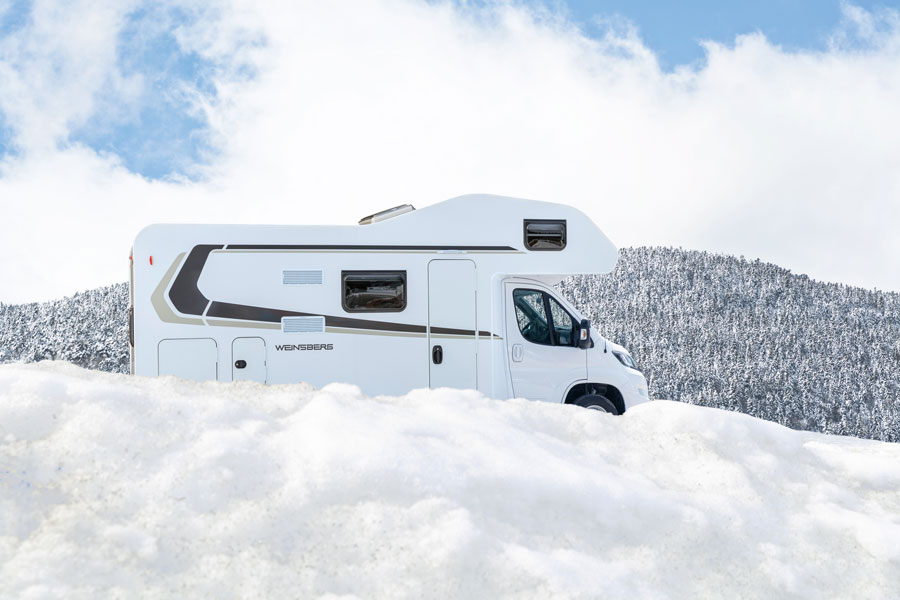 The Weinsberg CaraHome 600 DKG. Perfect for families on an extended European tour.