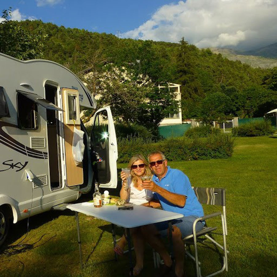 We love this shot, it really sums up the freedom of European campervan travel