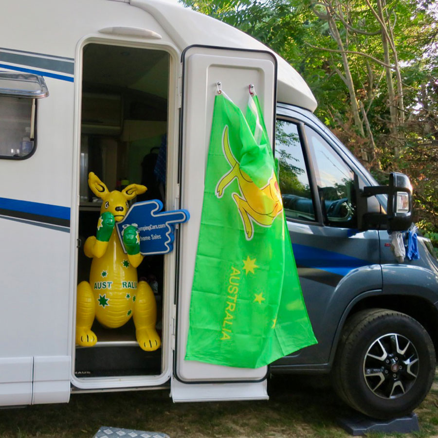 Whether your passion is watching The Tour de France or watching the inside of your eyelids, you can do it with ease in a motorhome