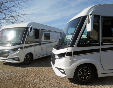 A dynamic duo has arrived here in Veron – a brace of 2020 model Knaus Live i's