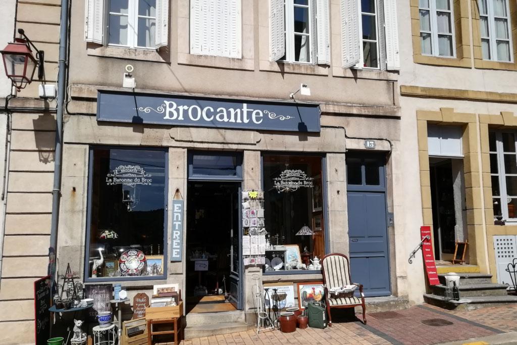 La Baronne du Broc shop front