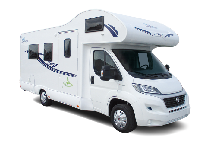Blucamp Sky Free motorhome sale in france